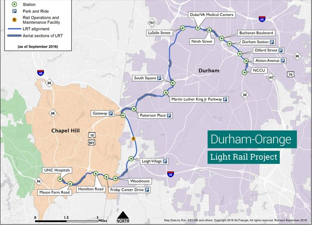 Light Rail, Bull City Connector to Take Center Stage at Durham ...