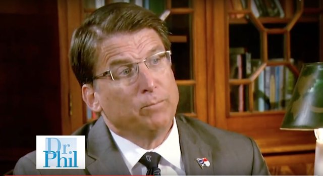 Totally Real YouTube Vid: Dr  Phil Takes Pat McCrory to Task
