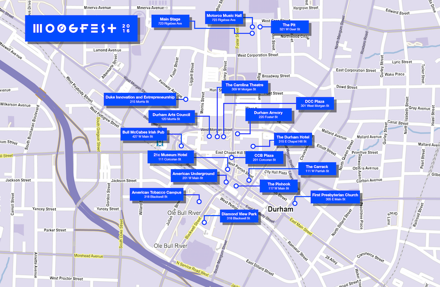 That Moogfest Map You Might Have Seen Today Isn T Quite Right Indy