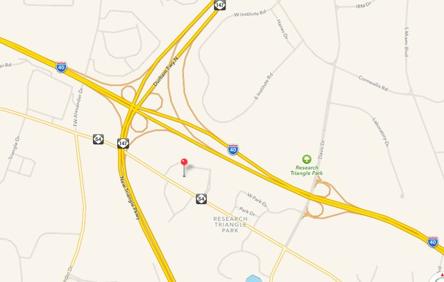 Ibm Rtp Campus Map.The Frontier Launches New Way Of Working At Research Triangle Park