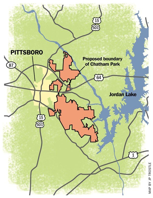 Pittsboro Matters sues—again over Chatham Park - INDY Week on