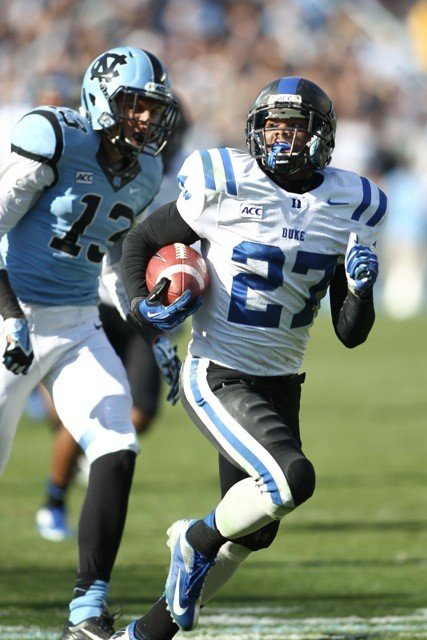 UNC and Duke will play for the Victory Bell in an ESPN night game this year.