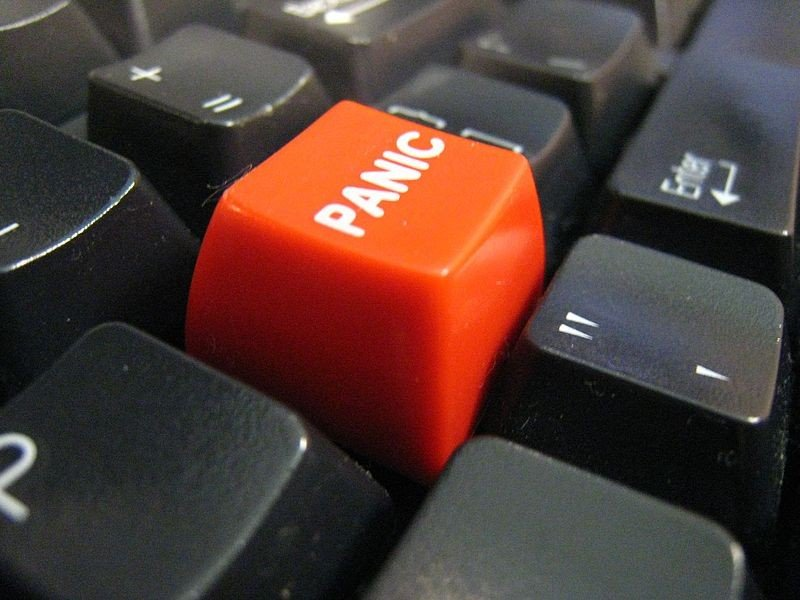 No, its not time for Caniacs to push this button. But its tempting after the kind of deflating loss weve gotten used to.