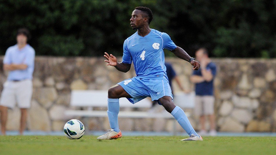 Junior defender and team captain Boyd Okwuonu will anchor the Tar Heels back line in 2013