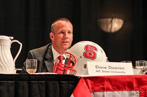 State coach Dave Doeren analyzes his team.
