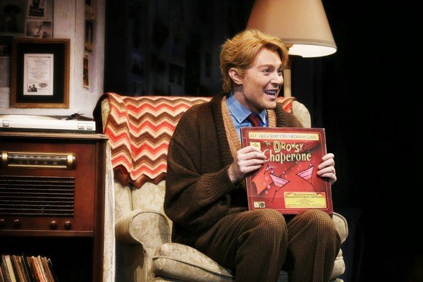Man in Chair, with Musical: Clay Aiken, in THE DROWSY CHAPERONE