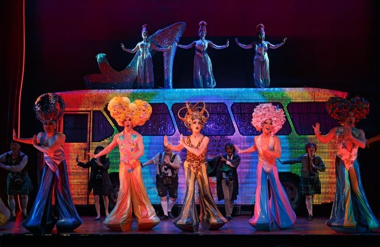 The mothership has landed: designers Tim Chappel and Lizzy Gardiners costumes run amok, in PRISCILLA