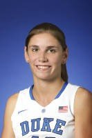 Duke senior center Allison Vernerey