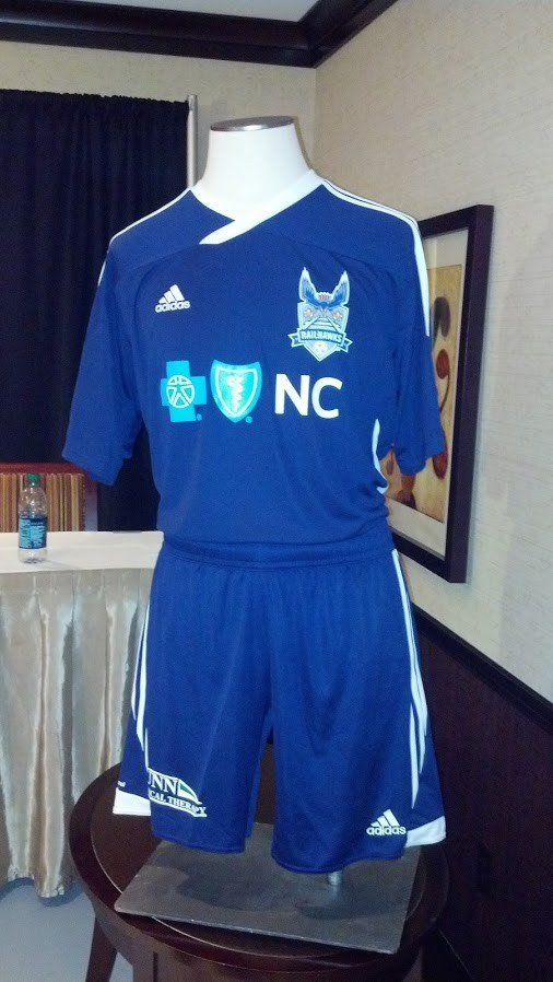 Carolina RailHawks new blue kit for 2013