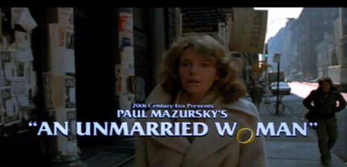Jill Clayburgh in AN UNMARRIED WOMAN