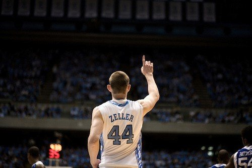 Big man Tyler Zeller has been difficult to replace. Hes seen here in a game against Kentucky during his freshman year.