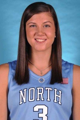 UNC guard Megan Buckland