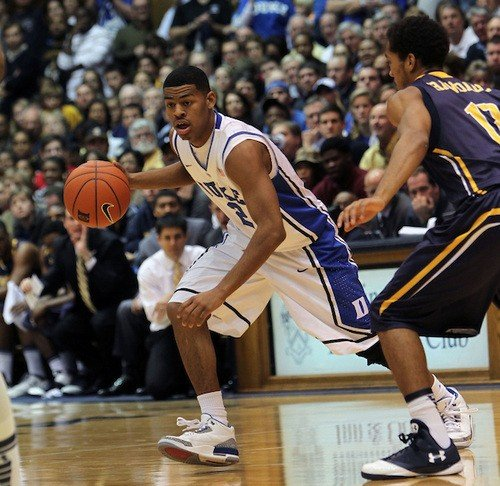 Quinn Cook, in action last season