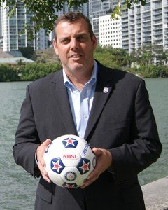 New NASL Commissioner Bill Peterson