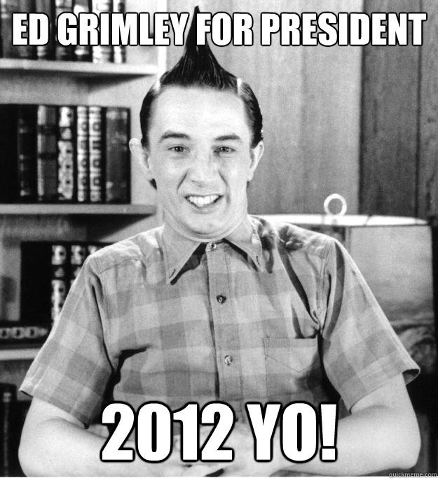 Ed Grimley, going mental