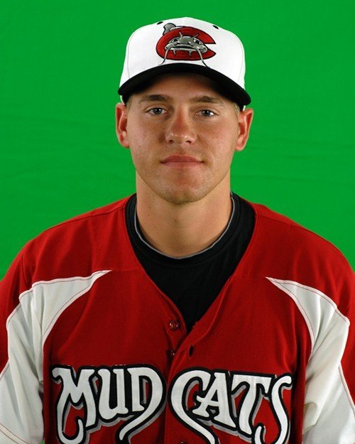 Mudcats pitcher Mike Rayl