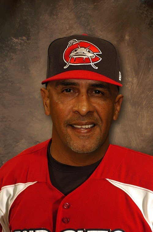 Mudcats manager Edwin Rodriguez