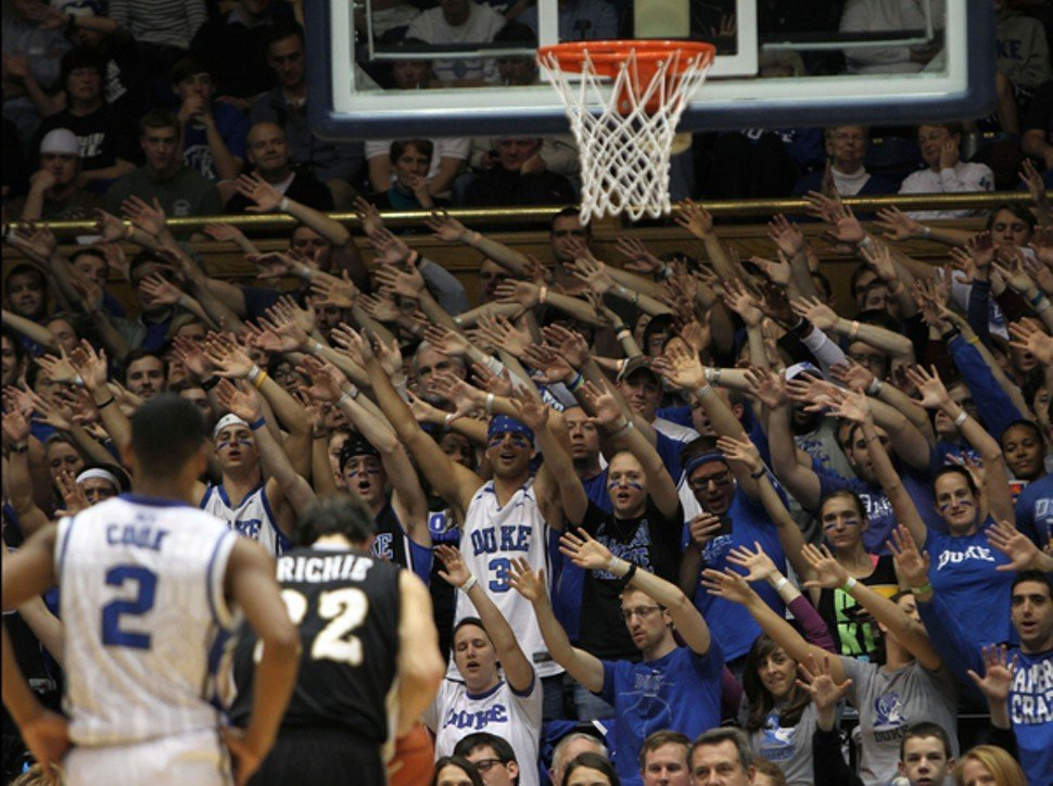 Holiday break or not, the Crazies showed up Friday night.
