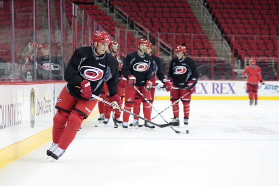 The holiday wishes of Canes fans have been granted. Tomas Kaberle is no longer on the team.
