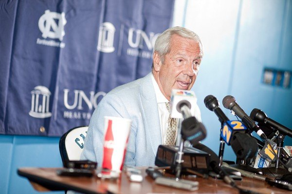Roy Williams endured vertigo but presided over UNCs season-opening victory (file photo)