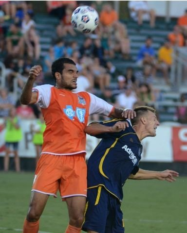 Pablo Campos and the rest of the RailHawks hope to avoid seeing stars this Saturday vs. NSC Minnesota