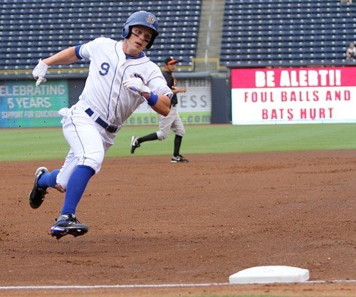 Bulls outfielder Brandon Guyer went 4-4 with two doubles last night.