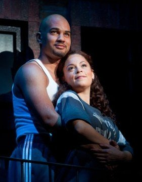 Nicholas Christopher & Genny Lis Padilla in IN THE HEIGHTS