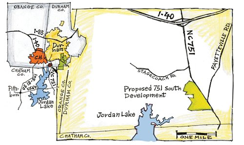 751 South Clears First Of Several Hurdles In Durham City Approvals