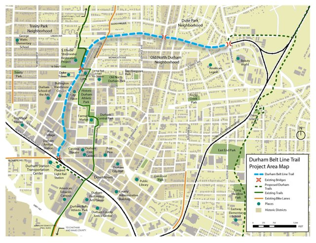 City Council Approves Durham Belt Line Master Plan Aims To Acquire