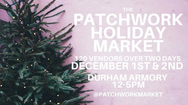 The Patchwork Holiday Market Indy Week