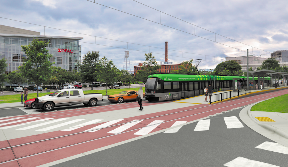 Light Rail Could Cut Off Downtown Durham From Dpac And The American