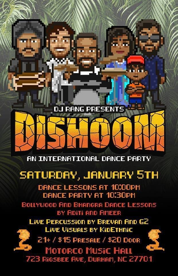DISHOOM 2019 - INDY Week