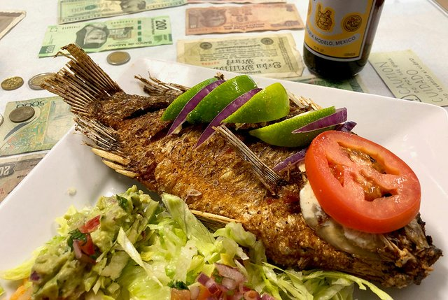 Mojarra at El Restaurante Ixtapa