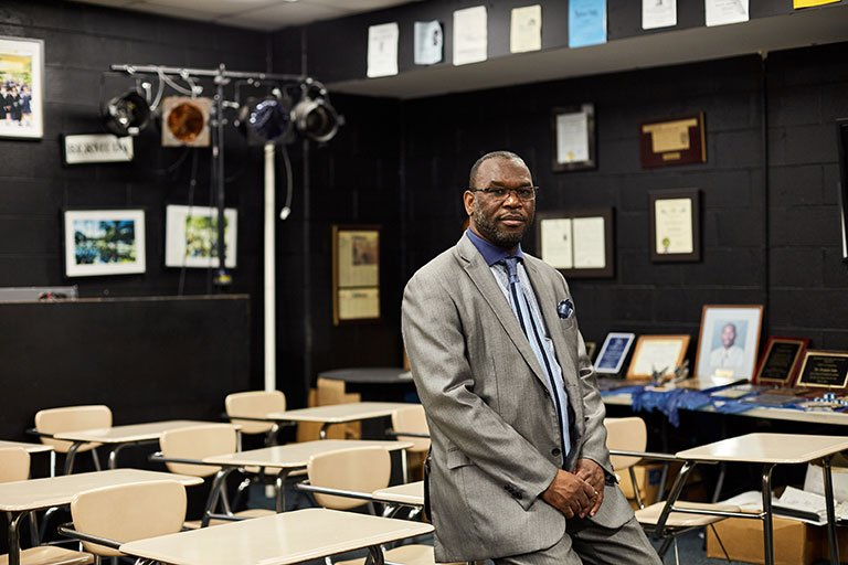 a celebrated high school drama teacher says dps forced him to work overtime without pay