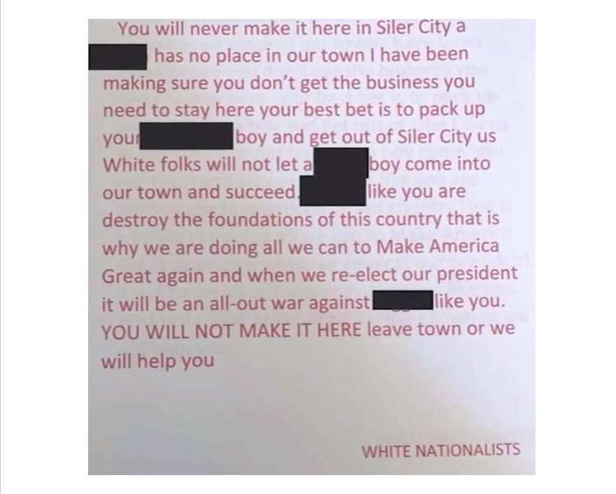 siler-city-chicken-shack-racist-letter-white-nationalists-trump-supporters.png