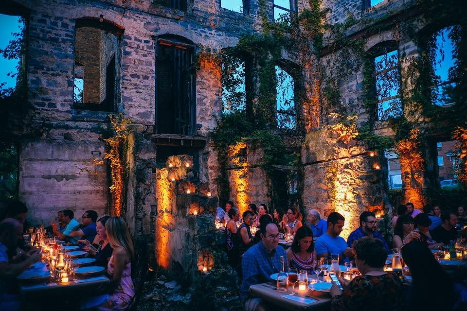In the World of Immersive Underground Dining, Food Becomes Storytelling