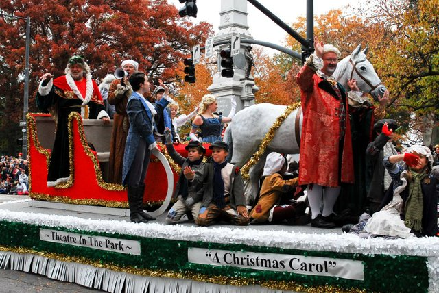 The Christmas Parade.Fine Let S Talk About The Dumb Raleigh Christmas Parade