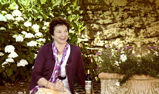Frances Mayes at Villa Bramasole, Her Home in Tuscany. (Credit Will Garin).jpg