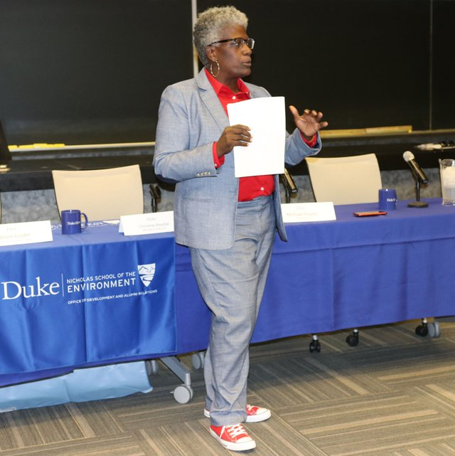 Satana Deberry at Duke