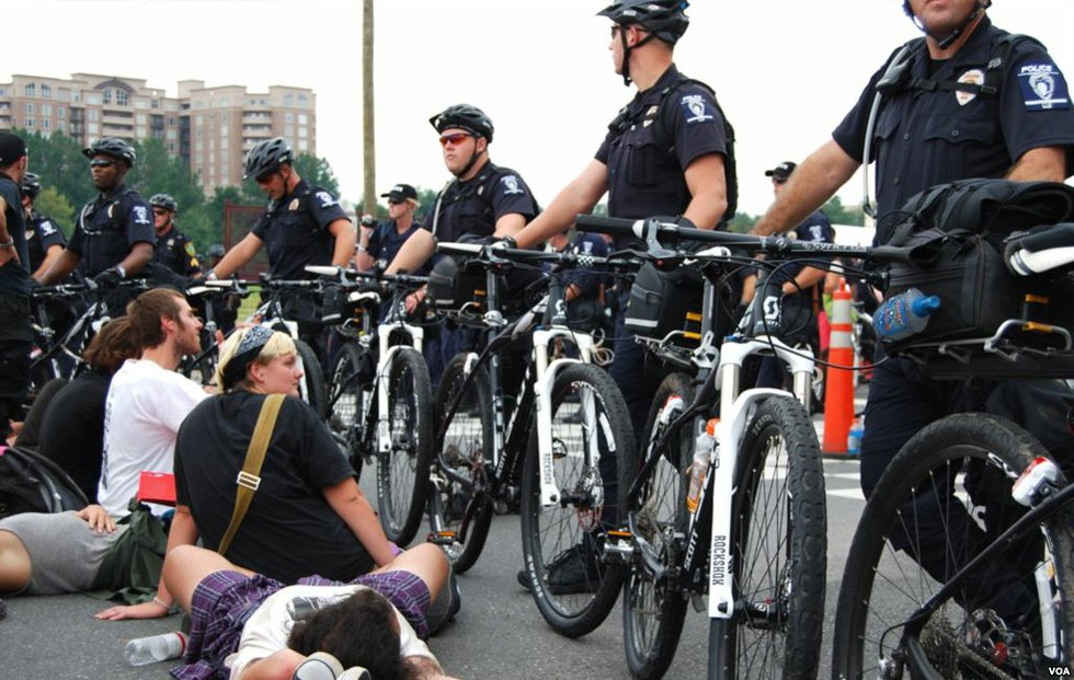 Charlotte protest in 2012